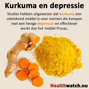 Kurkuma en depressie