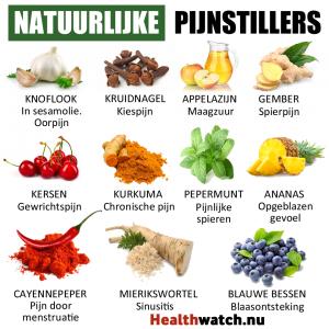natuurlijke pijnstiller